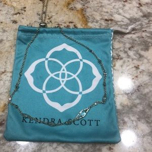 Kendra Scott adjustable gold necklace